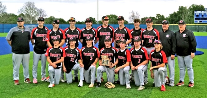 Chillicothe High School baseball Hornets, 2021 Class 4 District 15 champions