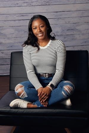 """Alice Stevenson, a 2019 graduate of Westerville North High School who helped found the """"One Westerville Scholarship."""""""