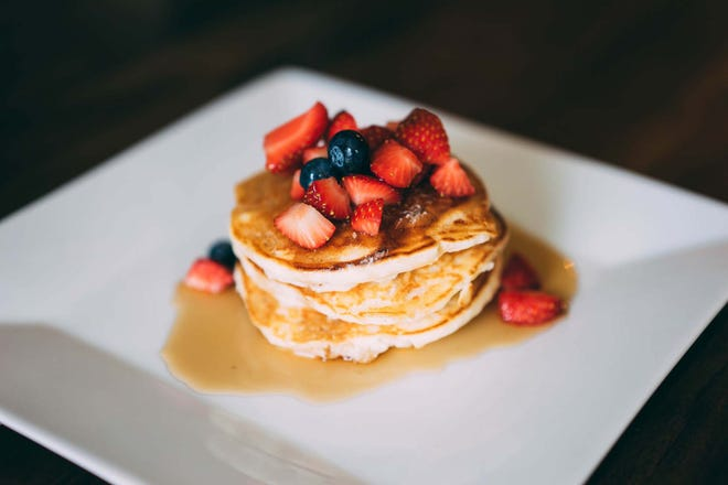 Here's a family-favorite pancake recipe to enjoy with strawberries, blueberries or raspberries.