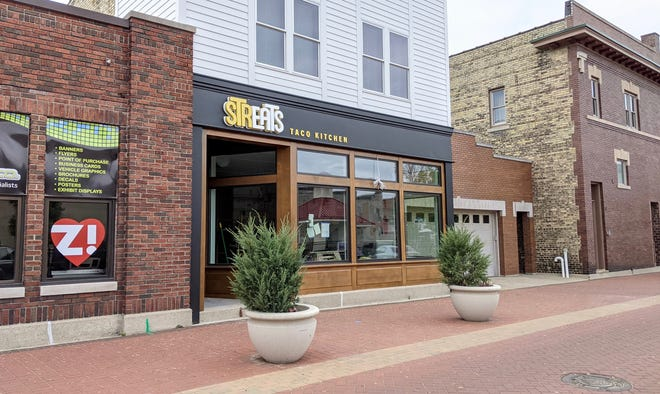 Streats Taco Kitchen will open in downtown Zeeland on Friday, June 25. The restaurant is focused on green practices and global street food.
