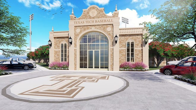 Texas Tech Athletics unveiled plans Thursday for a new $12.5 million baseball team facility at Dan Law Field at Rip Griffin Park.
