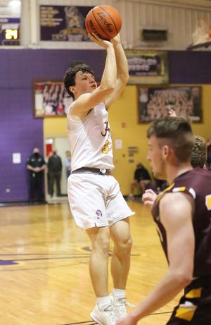 Anacoco senior Drew Tebbe recorded the seventh best single-season assist total in the nation during this past campaign for the Indians, racking up 394 in 40 total games, an average of 9.9 assists per outing.