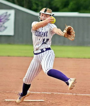 Chloe Bennett recently competed in the LSCA all-star softball weekend in Tioga, where she struck out eight batters and allowed no runs in five innings pitched.