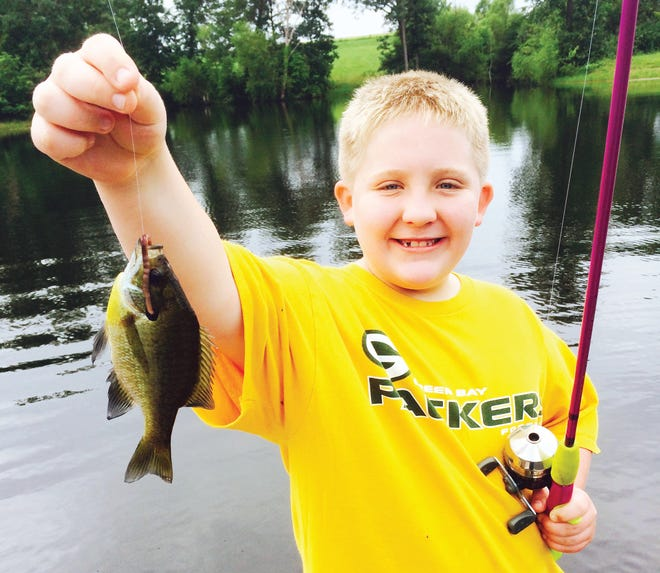 No matter your age, catching bluegills under bobbers will put a smile on your face.