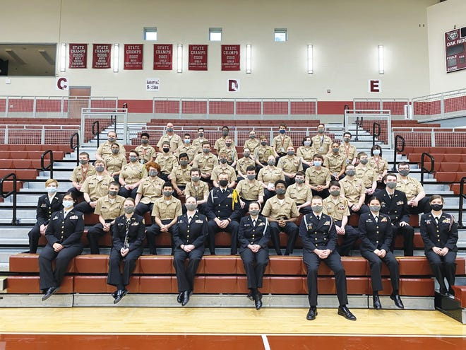The Oak Ridge High School NJROTC has earned the Area 9 Distinguished Unit Award with Academic Honors. This award is given to exceptional Naval Junior Reserve Officer Training Corps units from their respective area managers.