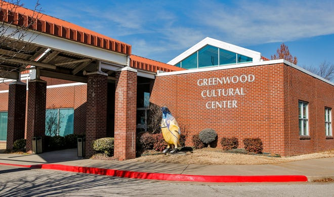 The Greenwood Cultural Center in Tulsa is seen in 2017.