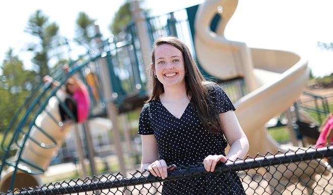 Shannon Smith, 17, of Marshfield who was named 2021 Youth of the Year by the Marshfield Boys and Girls Club.