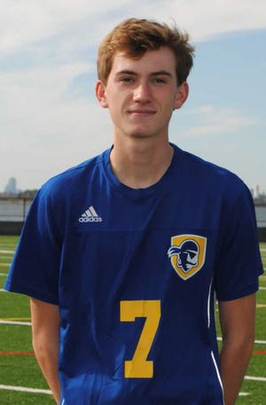 Hayden Anastos of Hull High has been named to The Patriot Ledger All-Scholastic Boys Soccer Team.