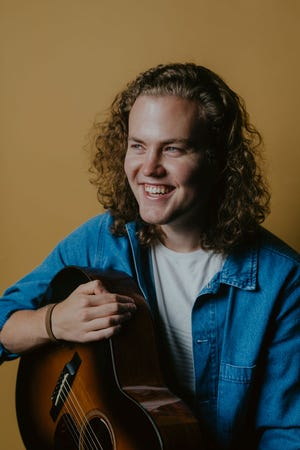 """Portsmouth native Sam Robbins, who now lives in Nashville, has released his first full-length album """"Finally Feeling Young"""" and is planning a Northeast tour this August."""