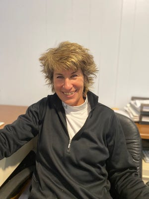 Sue Spahr has been the Swanhills Golf Course superintendent for 28 years.