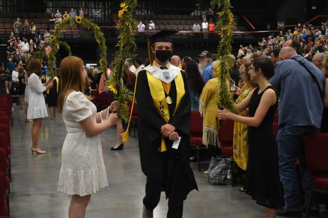 Tecumseh Class of 2021 celebrates their graduation.