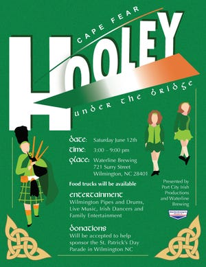 Cape Fear Hooley under the bridge will be held June 12.