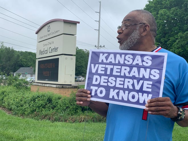 Eugene Perkins, who served in the Army from 1973-1975, said he doesn't understand why the Colmery-O'Neil VA Medical Center in Topeka would consider service changes.