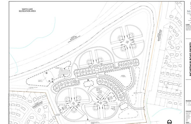 The city and Bragg's shared sports complex will feature baseball fields, trails and parking. It's budget so far is around $3.7 million.