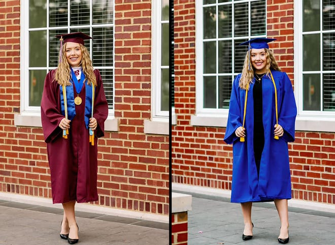 Savannah Wood recently graduated from Boaz High School and Snead State Community College two weeks apart. As a dual-enrollment student, she was able to earn her associate degree while fulfilling her credit for her high school diploma.
