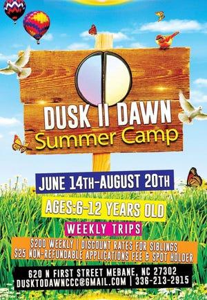 Dusk II Dawn summer camp