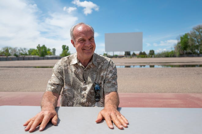Chuck James, owner of the Mesa Drive-In, discusses the upcoming season on Wednesday May 19, 2021.