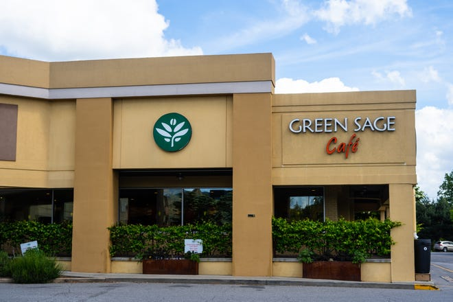 The Green Sage restaurant, located in the Westgate Shopping center, will be closing on Friday, May 21, 2021.