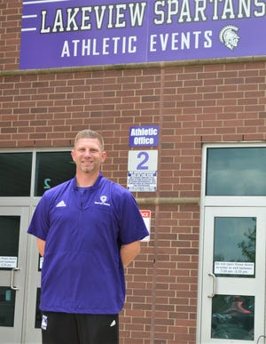 Current Spartan teacher and coach, Kyle Kracht has been named as the new Athletic Director for Lakeview High School.