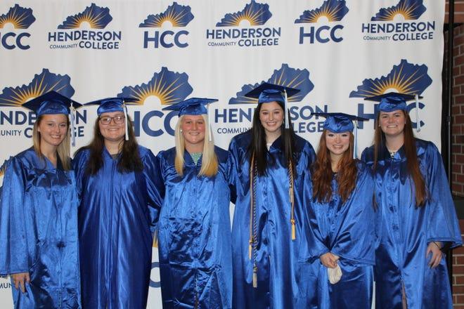 2021 HCC Early College Academy graduates are: Claire Boeglin, Mackenzie Davis, Dylan Elliott, Krista Gardner, Emma Gibson, Mia Roppel-Wolf