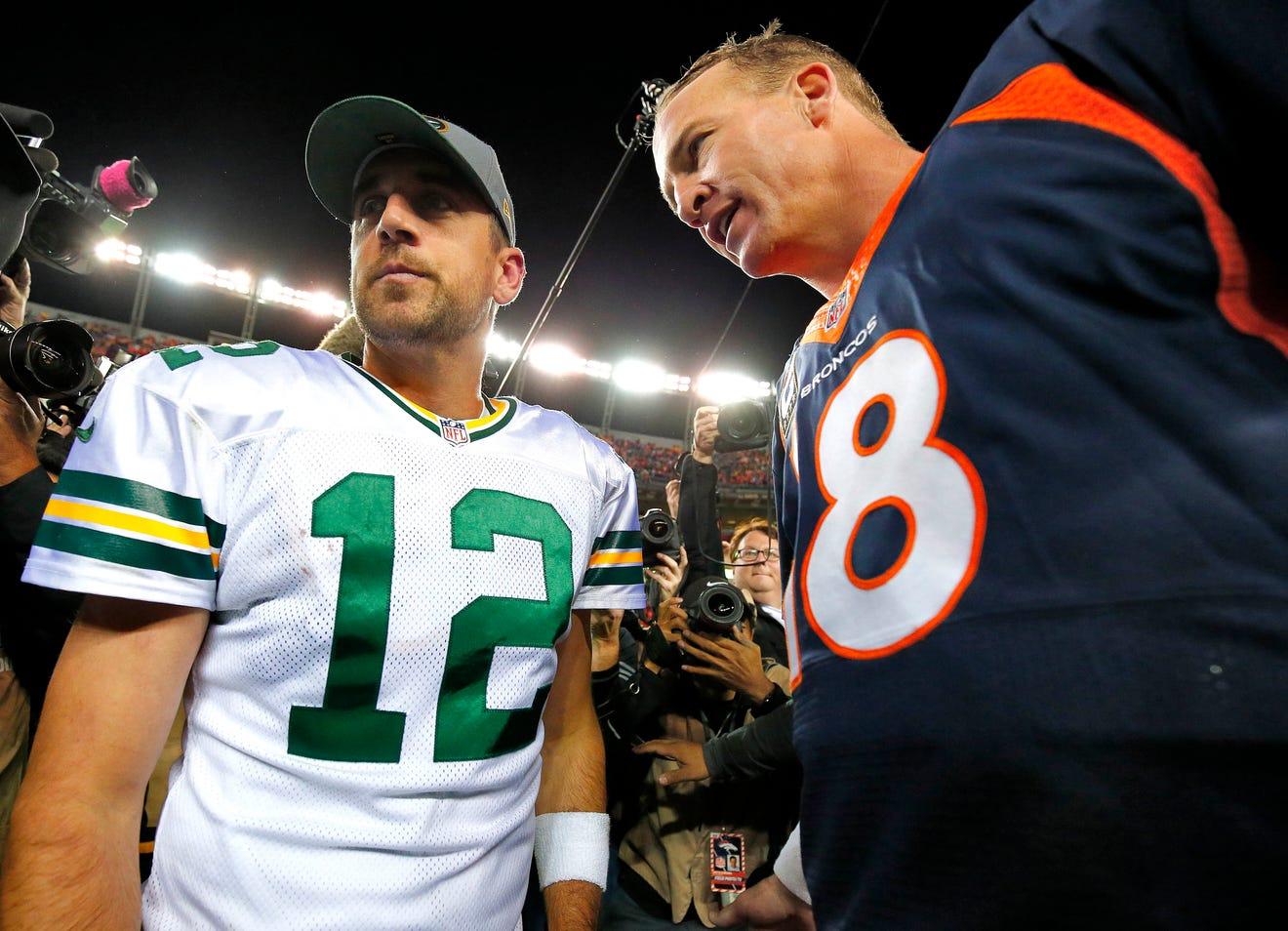 Peyton Manning & Eli Manning Show Off Rap Skills in