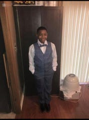Dayshawn Bills, 12, was shot while he was playing video games at his grandmother's house in the 3400 block of Leland Avenue early Thursday morning. The shots were fired from outside the home, officials said.