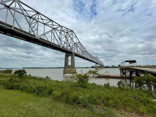 The Helena Bridge crosses the Mississippi River between Helena-West Helena, Arkansas and Lula, Mississippi. It is the only two-lane bridge crossing over the southern portion of the Mississippi River that remains and has seen a significant increase in traffic.