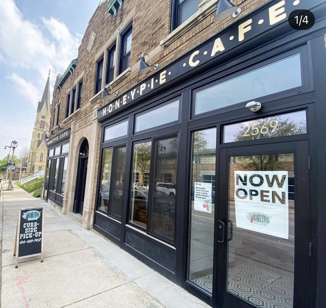 HoneyPie Cafe is in its new home, at 2569 S. Kinnickinnic Ave. It has table service on the patio and offers carryout. Indoor dining is expected to begin in the fall.