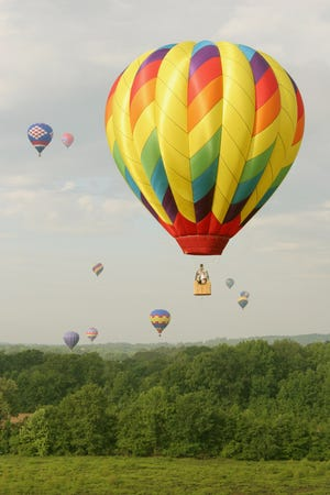 The Alabama Jubilee Hot Air Balloon Classic in Decatur is May 29-30