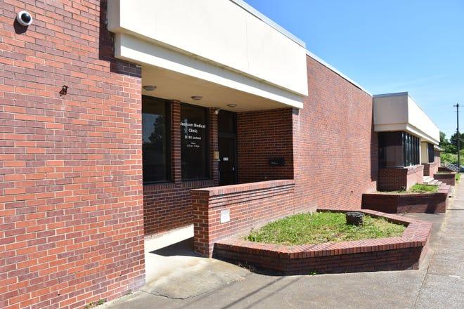 The former Jackson Medical Clinic facility on Church Street in Downtown Dickson.