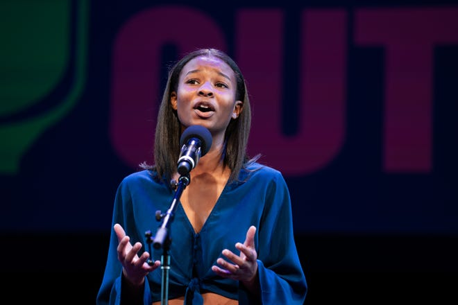 Kendall Grimes was a national semifinalist at Poetry Out Loud 2019. She's since made it through the semifinals of the 2021 competition and will be competing at the virtual national finals on May 27.