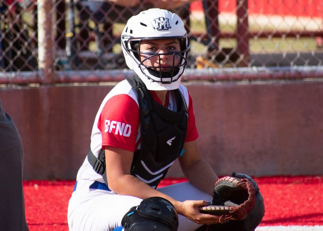 Coahoma High School's Jocelyn Torres-Mendoza was named most valuable player of the District 5-3A softball team in 2021.