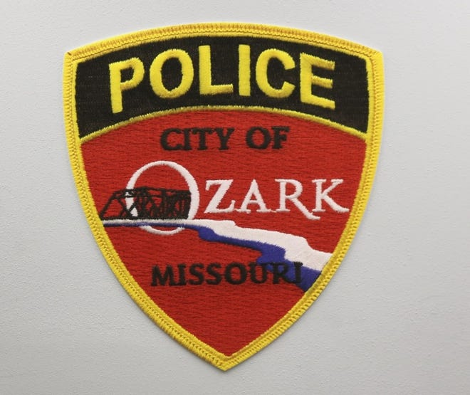 The Ozark Police Department patch.