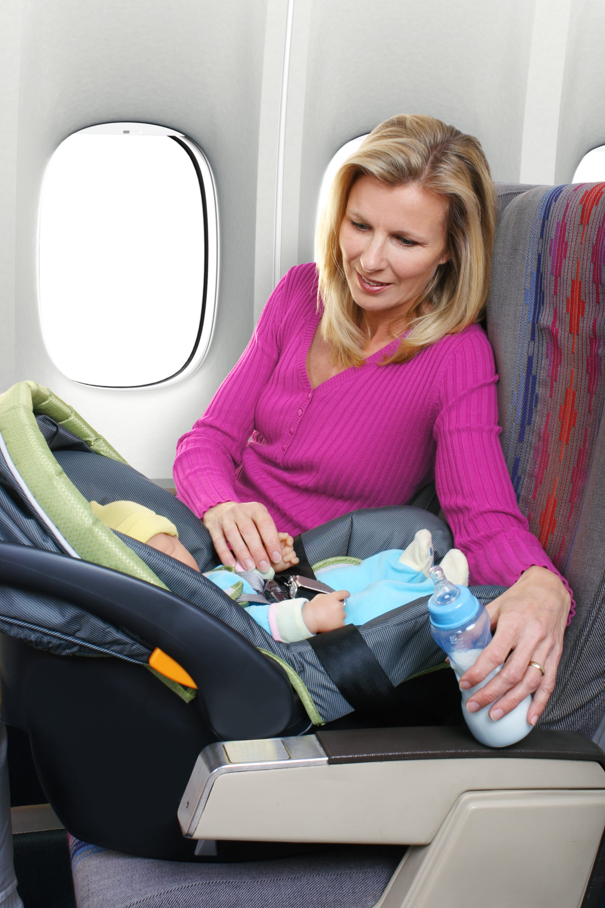 Should you buy  your baby a separate seat when flying? Yes, and here's why.