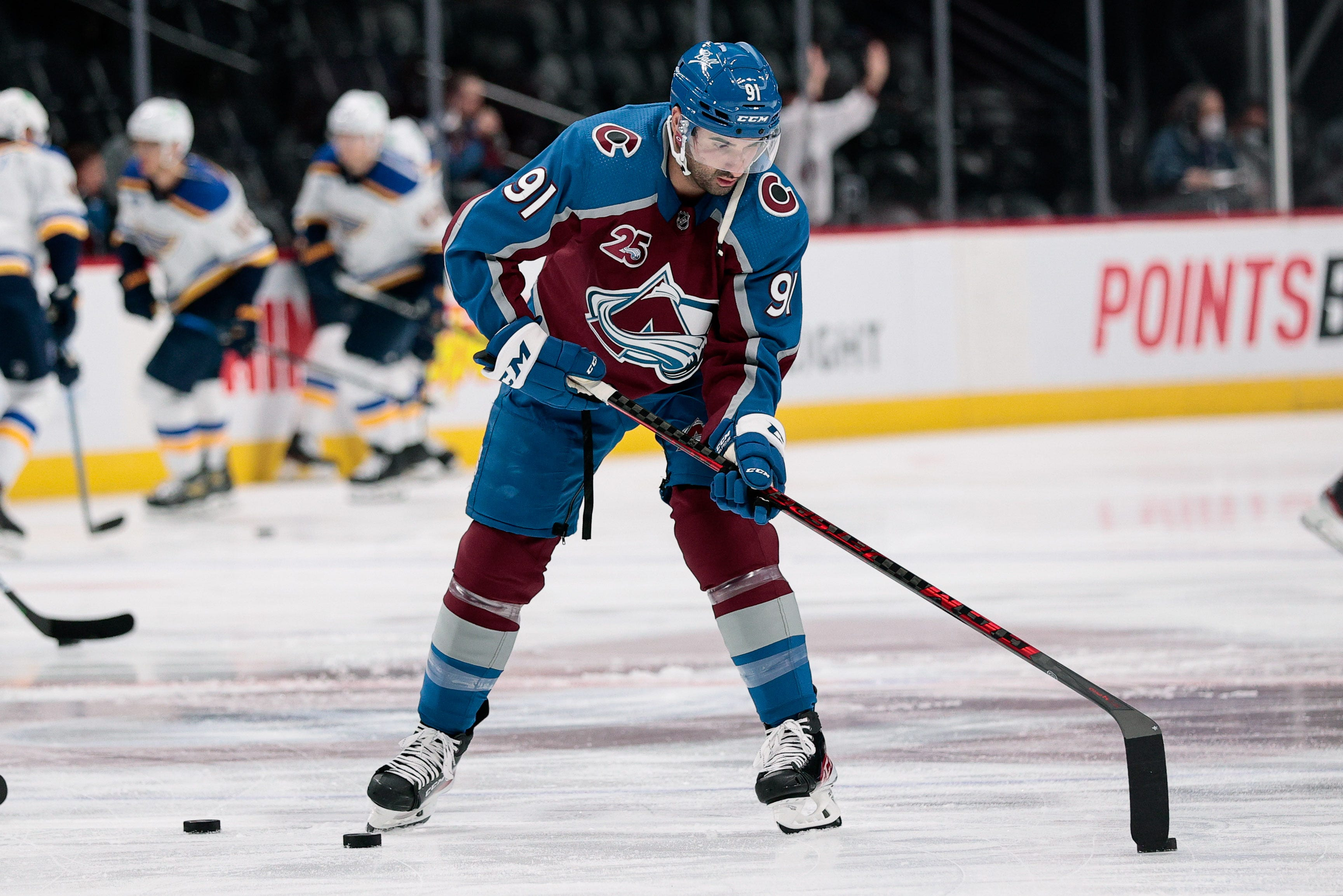 Colorado Avalanche forward Nazem Kadri ejected for hit to head of St. Louis Blues' Justin Faulk
