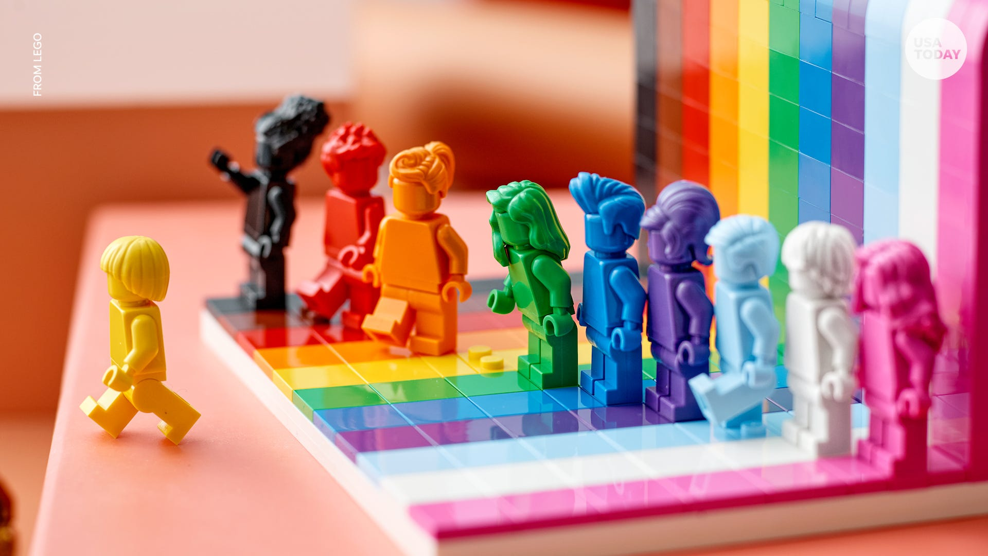 LEGO launching first-ever LGBTQ set ahead of Pride Month