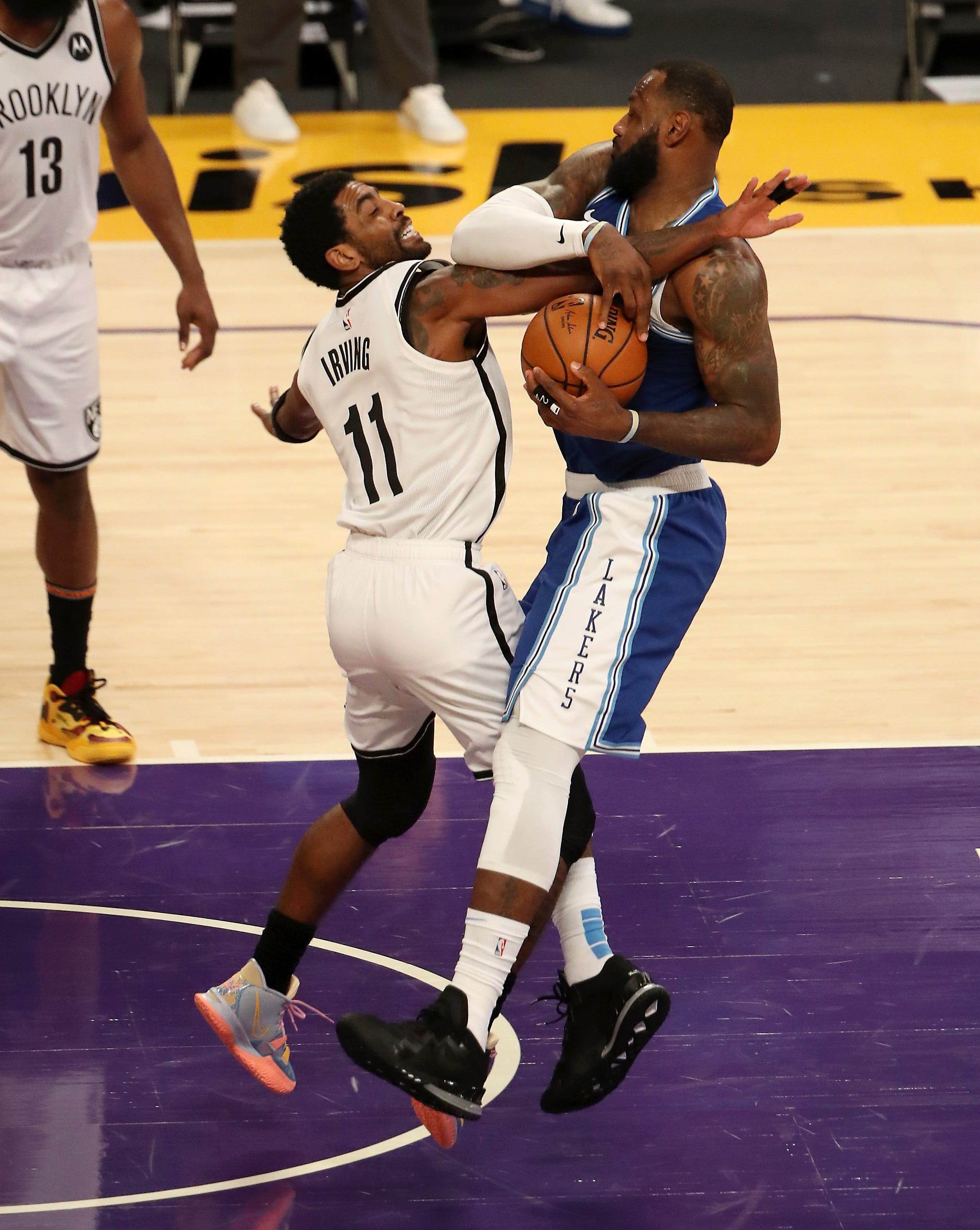 Our experts can see Kyrie Irving (11) and the Nets facing LeBron James and the Lakers as a safe bet for the NBA Finals.