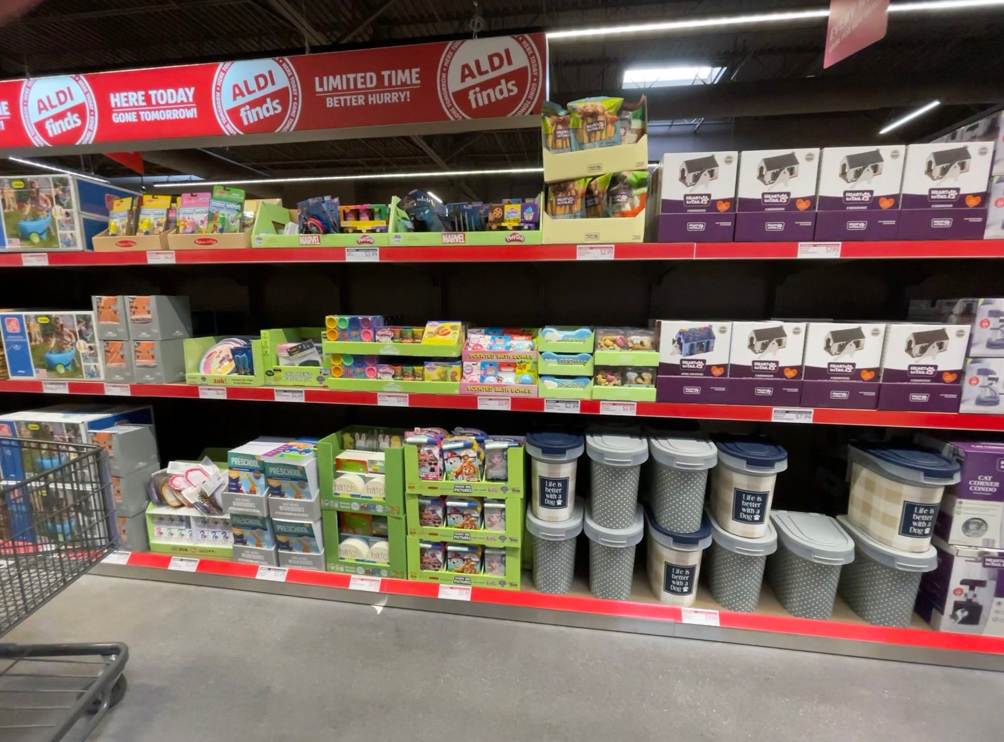 Aldi Finds are limited-time deals that constantly are changing. If you see something you want, don't delay.