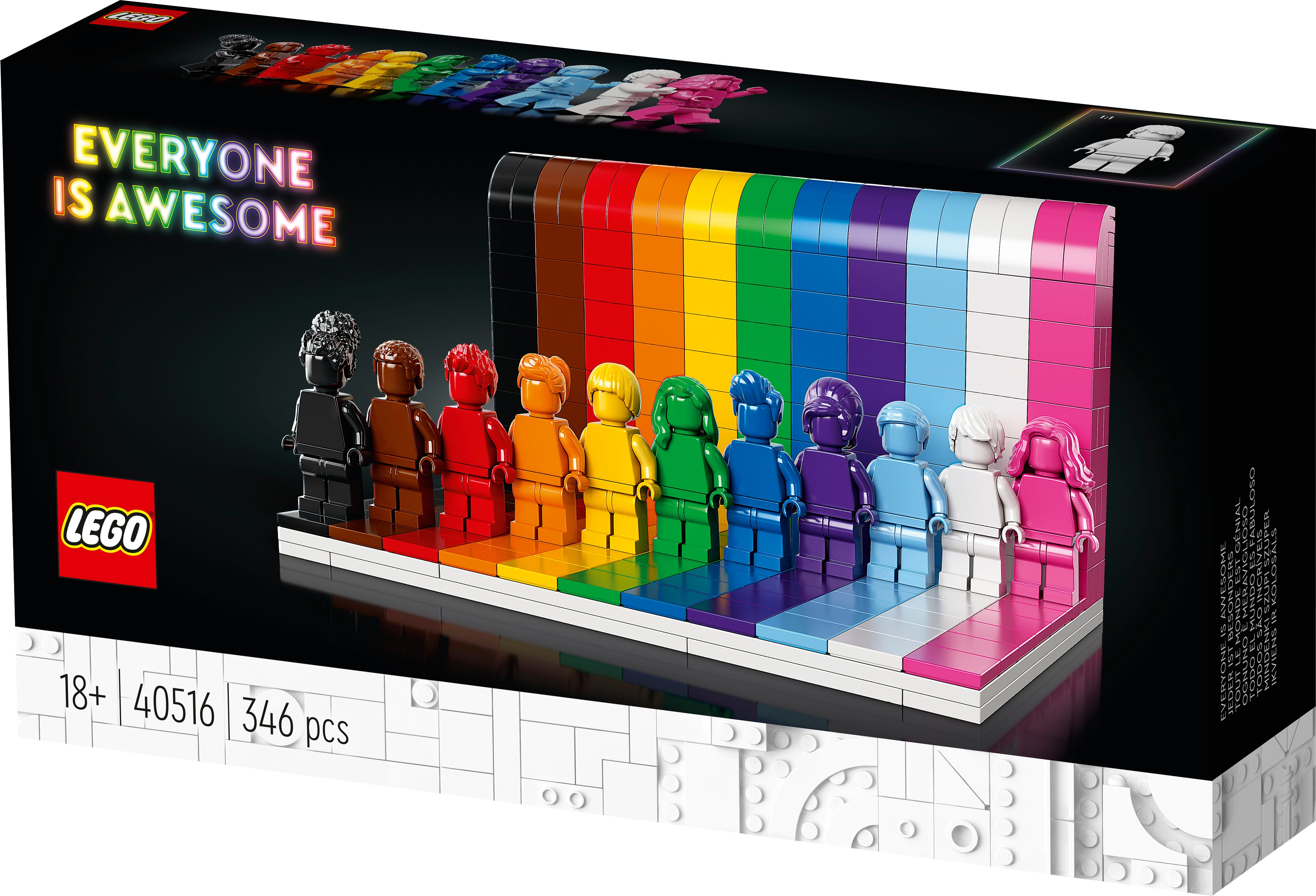 Lego announces LGBTQ set ahead of Pride Month: 'Everyone is Awesome'