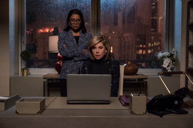 "Audra McDonald and Christine Baranski star in ""The Good Fight."""