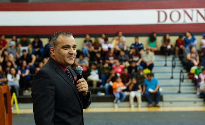 Donna school district Superintendent Hafedh Azaiez has been named the lone finalist for the superintendent position in Round Rock.