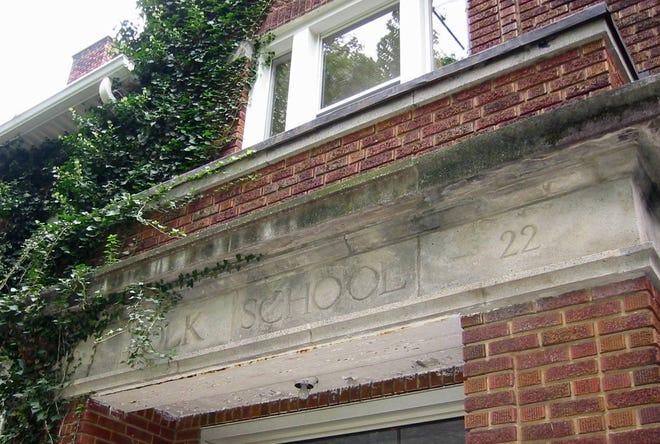 Polk School built an addition in 1922.