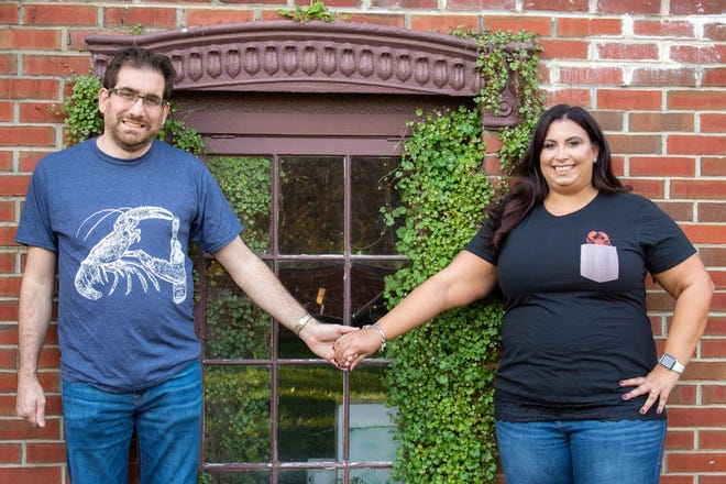 Edward Mele and Rachel Einsbruch are preparing for their July wedding at Nostalgia 1720 in Chalfont.  This is the third time they have planned their wedding.