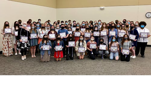 2021 graduates of Butler's Early College Academy program have earned their high school diploma and associate degree simultaneously