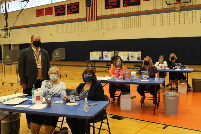 Penn Yan Superintendent Howard Dennis and the district staff helped ensure the smooth operation for the budget vote and board election that drew 642 voters