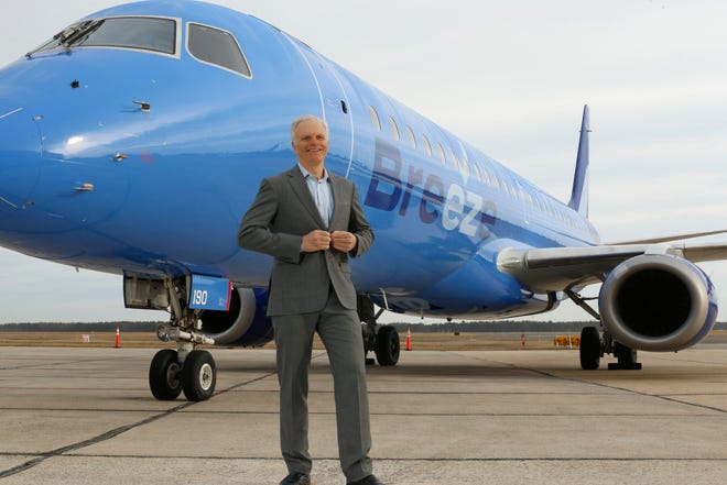 Breeze Airways is the fifth airline founded by David Neeleman.