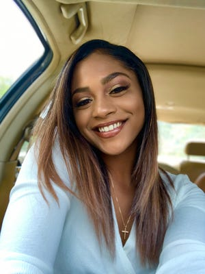 Ameena Freeman, a 2020 graduate of Westerville North High School who helped found a scholarship for students of color at each Westerville high school.