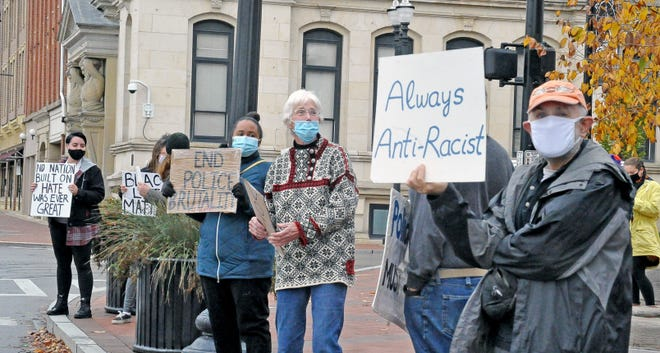 Protesters have been gathering daily in downtown Wooster since the 2020 death of George Floyd. May 31 will mark the 365th consecutive day of rallies. Organizers are planning a special event on May 25, the one-year anniversary of Floyd's death.