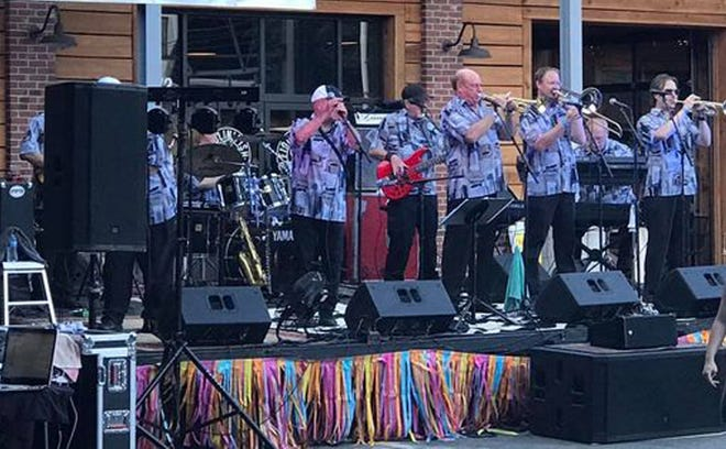 The Part Time Party Time Band will be one of four bands to perform at Everybody's Day on the Main Stage in Thomasville on Saturday. Eight bands will perform on the Gospel Stage.