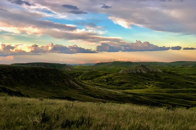 Desert Coulee Ranch in eastern Montana.